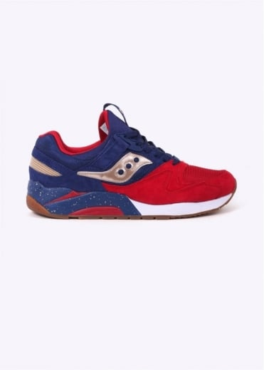 Saucony Grid 9000 Sparring - Navy / Red