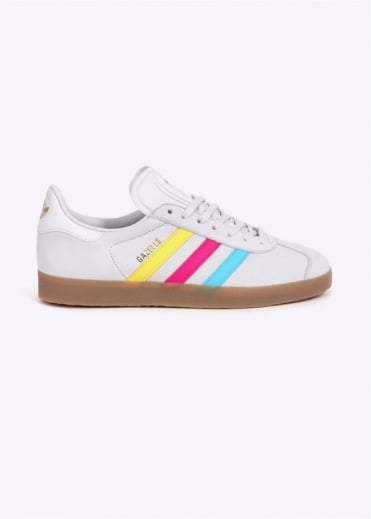 Adidas Originals Footwear Gazelle CMYK - White