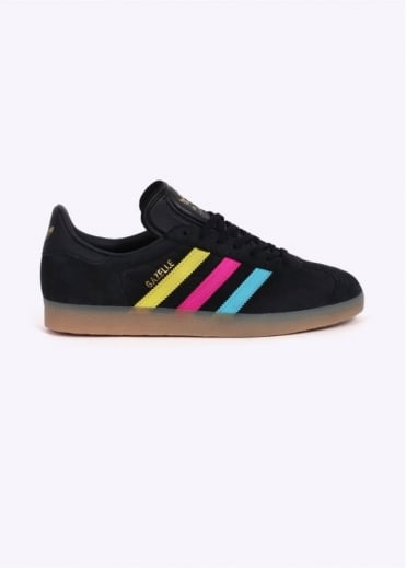 Adidas Originals Footwear Gazelle CMYK - Black