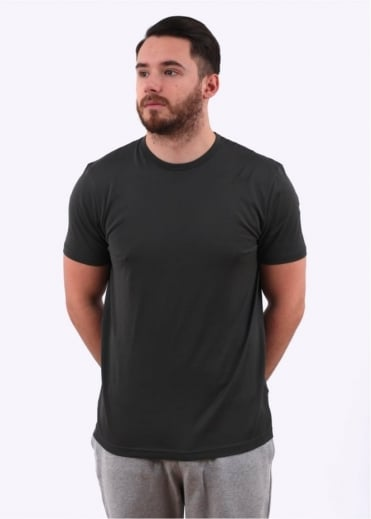 Sunspel Q82 Short Sleeve Crew Neck - Petrol