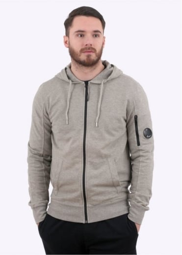 C.P. Company Hooded Sweater - Blend Grey