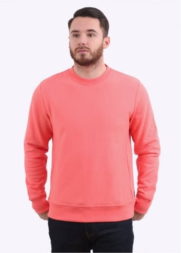 Paul Smith Organic Cotton Sweatshirt - Salmon