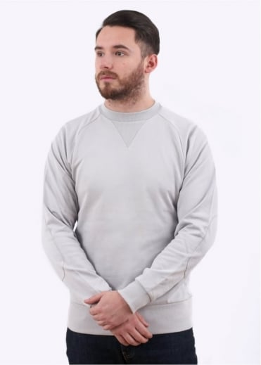 Y3 / Adidas - Yohji Yamamoto CL Sweat Top - Light Grey