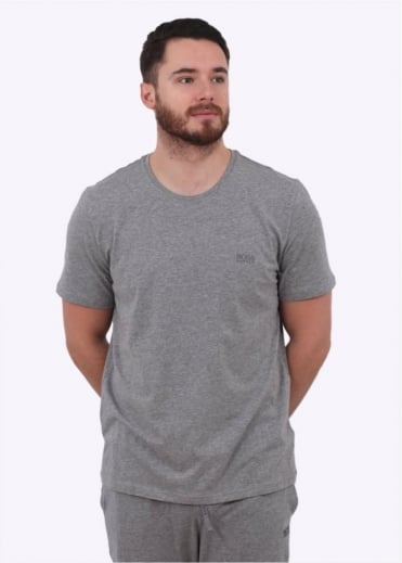 Hugo Boss Black RN SS Tee - Medium Grey