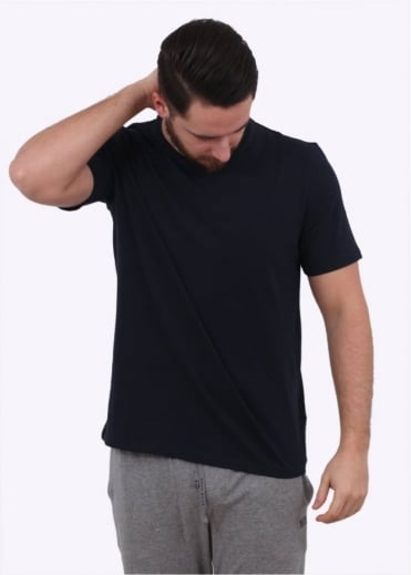 Hugo Boss Black RN SS Tee - Dark Blue