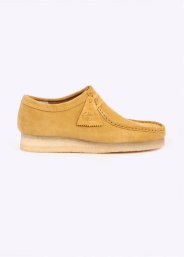 Clarks Originals Wallabee Suede - Ochre