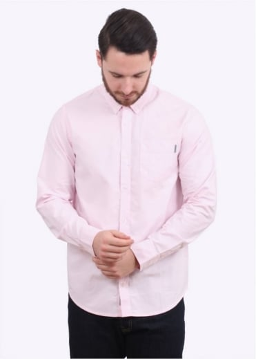 Carhartt LS Button Down Pocket Shirt - Vegas Pink