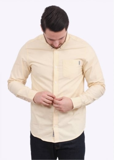 Carhartt LS Button Down Pocket Shirt - Ibiza Yellow
