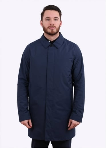 Norse Projects Thor Crisp Cotton - Navy