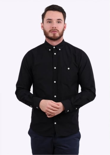 Norse Projects Anton Oxford Shirt - Black