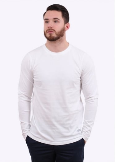Norse Projects Niels Basic LS - White