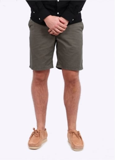 Norse Projects Aros Light Twill Shorts - Dried Olive