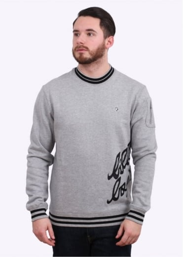 Billionaire Boys Club Team Training Crewneck - Heather Grey