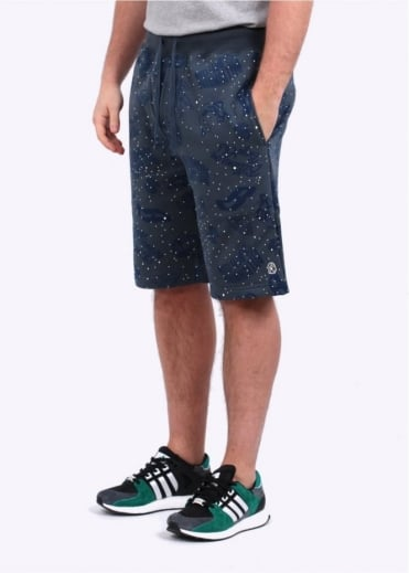 Billionaire Boys Club Galaxy All-Over Print Shorts - Blue