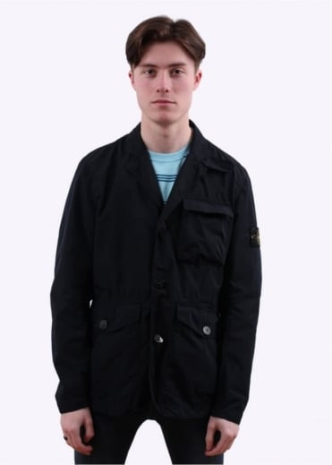 Stone Island David Tela Light TC Jacket - Navy