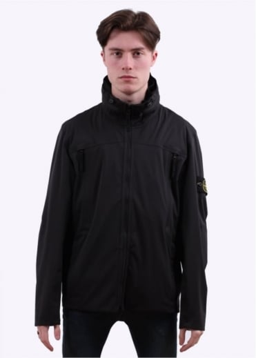 Stone Island Light Soft Shell - Black