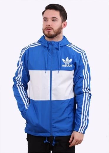 Adidas Originals Apparel CLFN Windbreaker - Blue