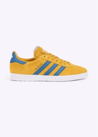 Adidas Originals Footwear Gazelle - Yellow / Blue