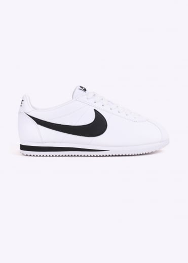Nike Footwear Classic Cortez Leather - White / Black