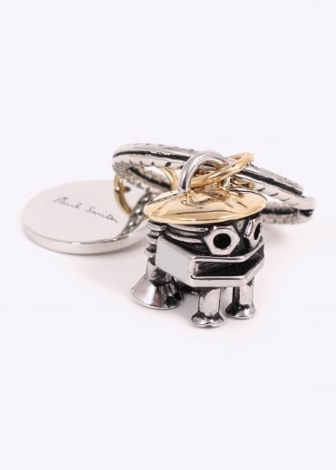 Paul Smith Bolts Keyring - Silver