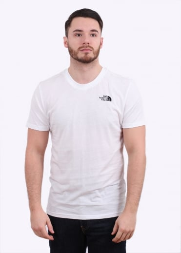 The North Face SS Simple Dome Tee - White