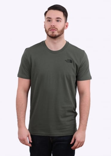 The North Face SS Simple Dome Tee - Thyme
