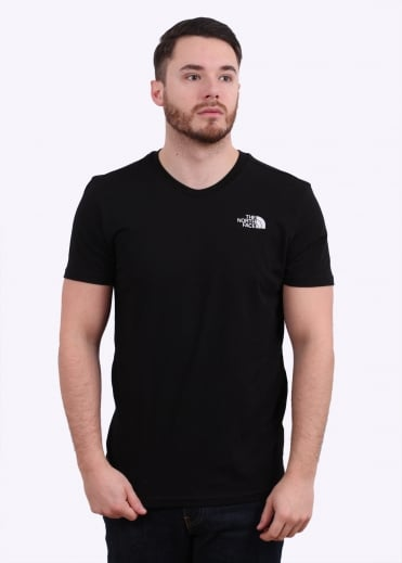 The North Face SS Simple Dome Tee - Black