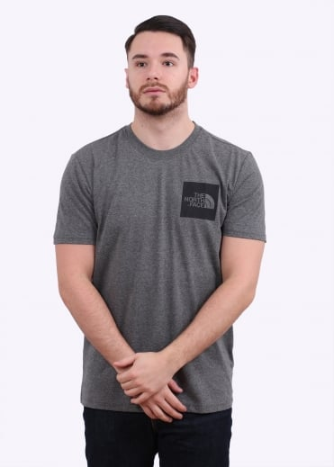 The North Face SS Fine Tee - Grey