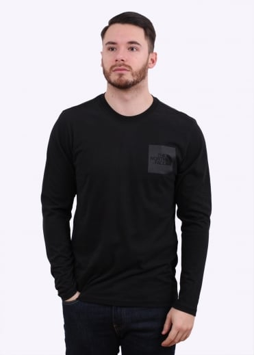 The North Face LS Fine Tee - Black
