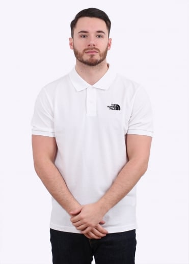 The North Face Polo Piquet  - White
