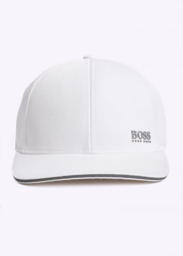 Hugo Boss Green Catch-5 Cap - White