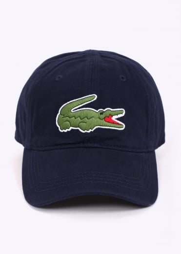 Lacoste Large Logo Cap - Navy / Blue