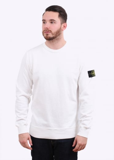 Stone Island Crew Sweat - White