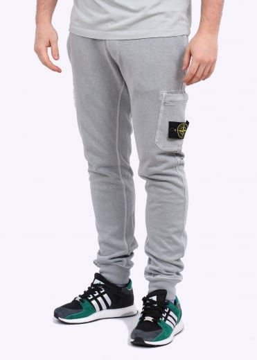 Stone Island Sweat Pants - Pearl Grey