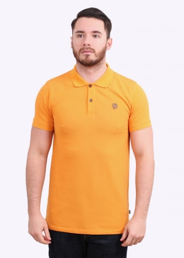 Fjallraven Ovik Polo Shirt - Seashell Orange