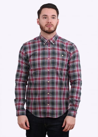 Barbour Oscar Shirt - Forest