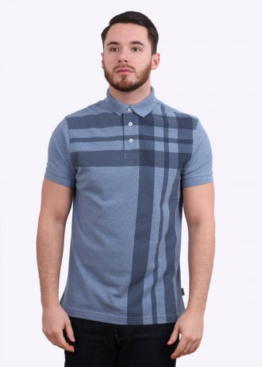 Barbour Howard Polo - Powder Blue