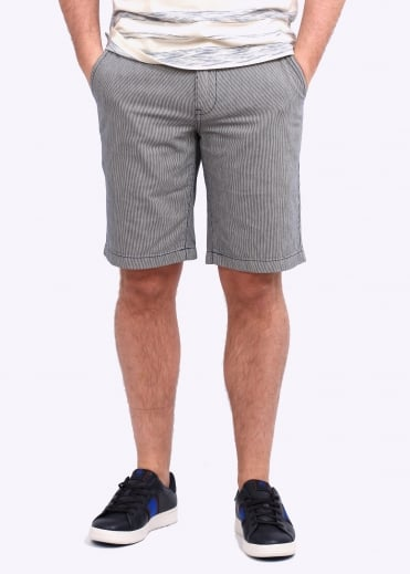 Barbour Neuston Tickin Shorts - Navy