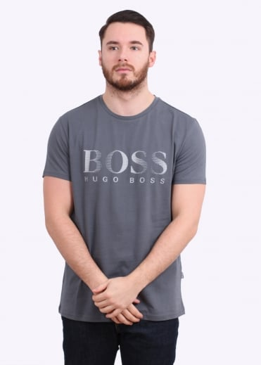 Hugo Boss Green RN T-Shirt - Dark Grey