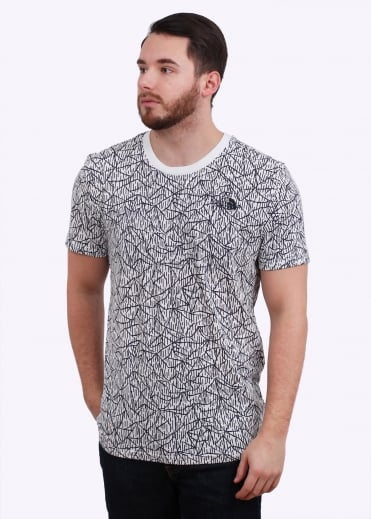 The North Face SS Simple Dome Tee - Vaporous Grey
