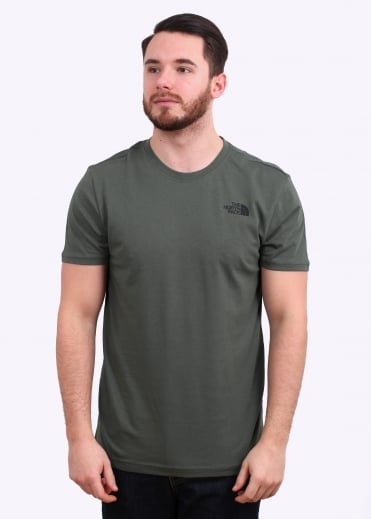 The North Face SS Red Box Tee - Thyme