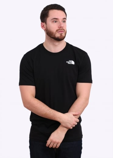 The North Face Redbox Celebration Tee - Black