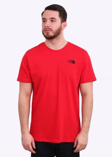 The North Face Redbox Celebration Tee - Red