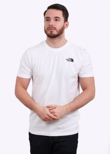 The North Face Redbox Celebration Tee - White