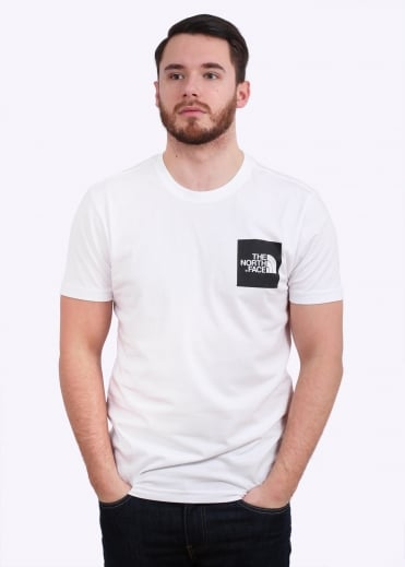 The North Face SS Fine Tee - White