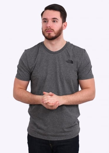 The North Face SS Simple Dome Tee - Medium Grey