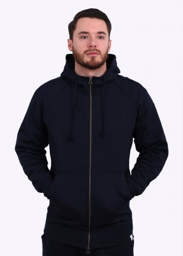 Adidas Originals Apparel X By O Full Zip Hoodie - Legend Ink