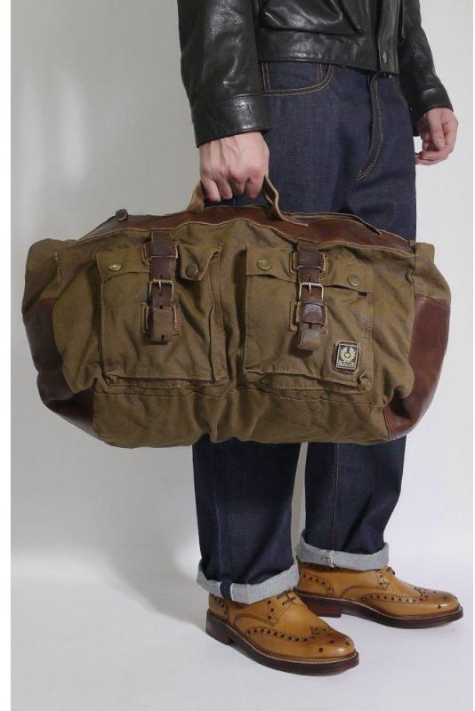 Belstaff Travel Bag Mountain Brown Triads