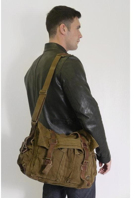Belstaff Colonial Shoulder Bag Mountain Brown Triads