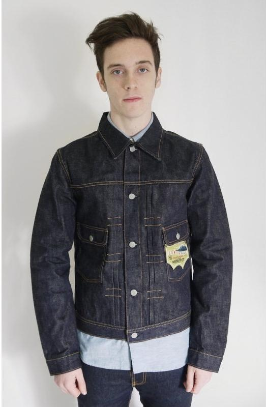 Edwin Over Works Factory 50u0026#39;s Denim Jacket | Triads